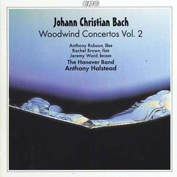 Jc Bach: Woodwind Concertos Vol 2/Oboe Concerto No 2 In F <span>-</span> Robson/Brown/Ward/The Hanover Band/Halstead, A.