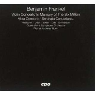 Frankel: Concerto For Violin And Orchestra Op. 24 - Hoelscher/Dean/Emmerson/Smith/Lale/Queenland Symph/Albert, W. A.