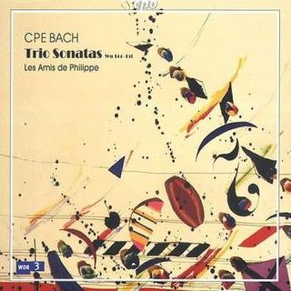 Cp Bach: The Art Of The Trio Sonata - Zimmermann/Schamberger/Kraemer/Rémy