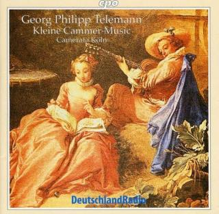Telemann: Kleine Cammer-Music' - 6 Partitas For Violin, Or - Various/Koln, C.