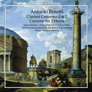 Rosetti: Concertos For Clarinet And Orchestra 1 & 2 In E