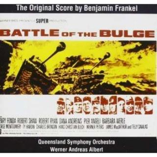 Frankel: The Battle Of The Bulge Complete Film Music - Queensland symphony orchestra/Queensland state and/Albert, W. A.