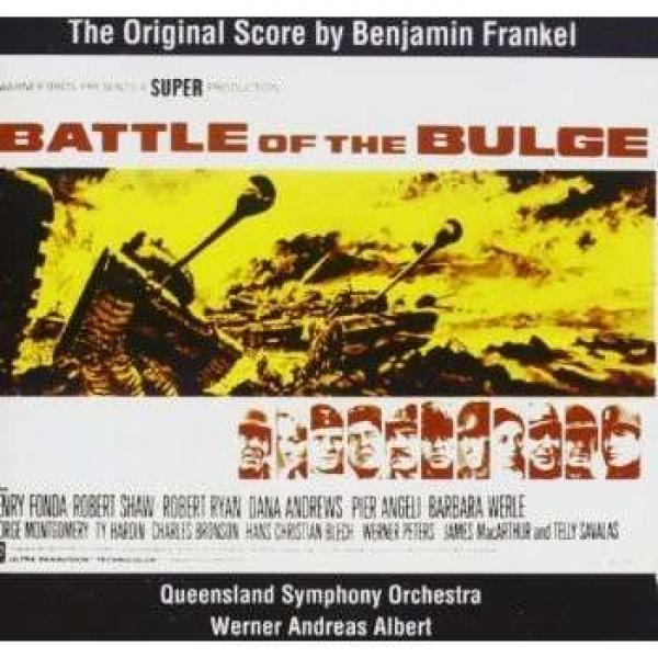 Frankel: The Battle Of The Bulge Complete Film Music <span>-</span> Queensland symphony orchestra/Queensland state and/Albert, W. A.