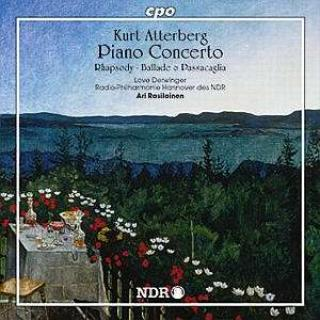 Atterberg: Piano Concerto Op 37/Rhapsodiy For Piano And Orch - Derwinger/Radio Philharmonie Hannover des NDR/Rasilainen, A.