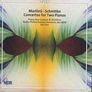 Martinu/Schnittke: Concerto For Two Pianos