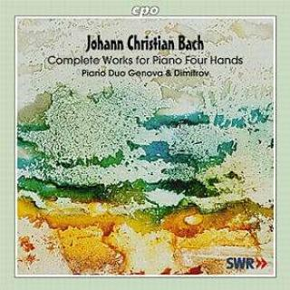 Jc Bach: Sonatas For 2 Piano's - Genova/Dimitrov