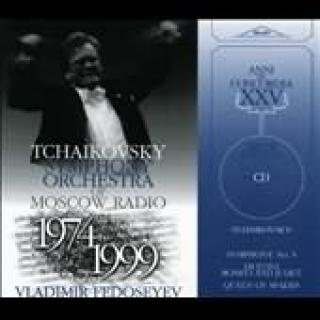 Tschaikowsky,Peter - Symphony No.5/Duetto Romeo & Juliet/Queen Of Spades (N.L.) - Fedosseyev/Tschaikovsky Symphony Orchestra/ -