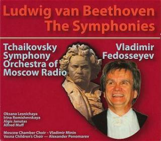 Beethoven, Ludwig Van - The Symphonies - Fedosseyev/Tschaikovsky Symphony Orchestra/ -