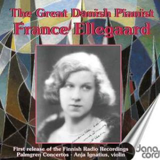 The Great Danish Pianist France Ellegaard