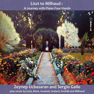 Liszt to Milhaud: A Journey with Piano Four Hands