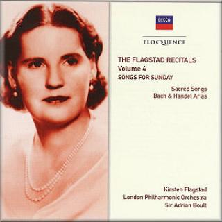 Flagstad, Kirsten Recitals Vol.4: Songs For Sunday - Flagstad, Kirsten (sopran)