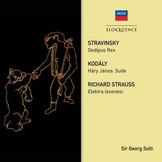 Stravinsky, Igor: Oedipus Rex and works by Strauss and Kodály - Solti, Sir Georg