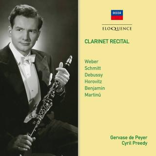 Gervase de Peyer: Clarinet Recital - Peyer, Gervase de - clarinet