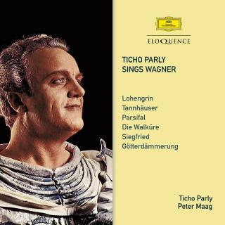 Ticho Parly sings Wagner - Parly, Ticho - tenor