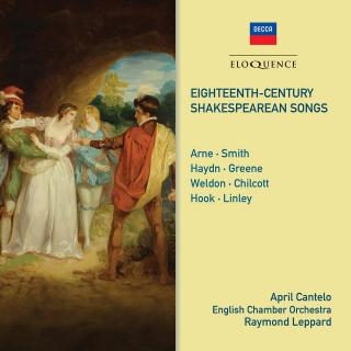 Eighteenth-Century Shakespearean Songs - Cantelo, April