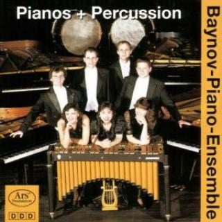 Antheil/Baynov/Feldman/Willot - Pianos + Percussion - Baynov-Piano-Ensemble