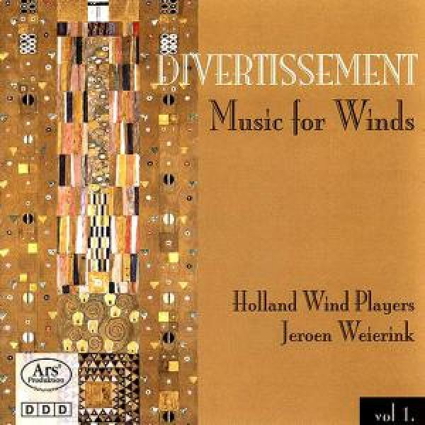 Francaix/Caplet/Bernard/Cossart - Divertissement - Music For Winds - Weierink/Holland Wind Players <span>-</span>