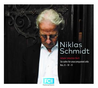 Bach, Johann Sebastian: Six Suites for unaccompanied cello, Nos. II - IV - V - Schmidt, Niklas – cello