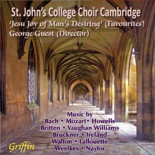 Jesu, Joy of Man's Desiring - favourite Choral works - St. John's College Choir Cambridge / Guest, George