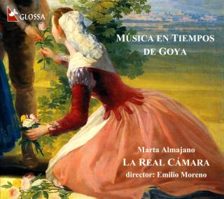 Music At The Time Of Goya - MORENO,E./LA REAL CAMARA