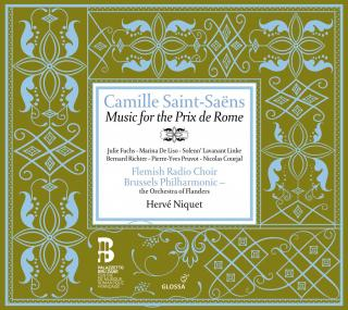 Saint-Saens:Music For Prix De Rome - NIQUET,HERVE/BRUSSELS PHILHARMONIC/FLEMISH RADIO CHOIR