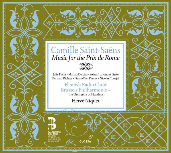 Saint-Saens:Music For Prix De Rome <span>-</span> NIQUET,HERVE/BRUSSELS PHILHARMONIC/FLEMISH RADIO CHOIR