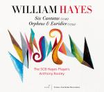 Hayes: Six Cantatas (1748)/Orpheus & Euridice <span>-</span> Rooley/Tubb/Hofbauer/The SCB Hayes Players/