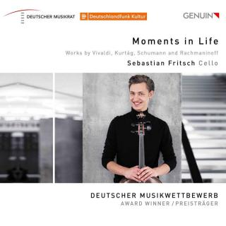 Moments in Life: Works by Vivaldi, Kurtág, Schumann and Rachmaninof - Fritsch, Sebastian (cello)
