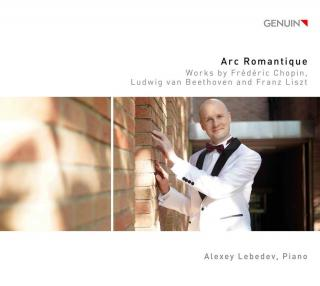 Arc Romantique - Music by Chopin, Beethoven & Liszt, - Lebedev, Alexey (piano)