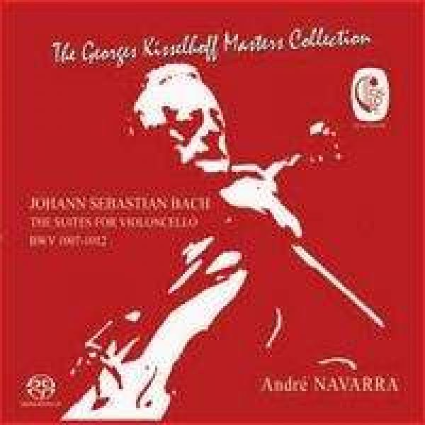 Bach, J.S. The Cello Suites Navarra, André <span>-</span>