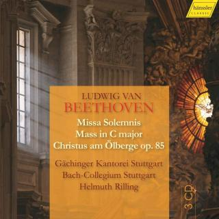 Beethoven: Choral Works - Missa Solemnis, Mass in C Major & Christus am Ölberge - Gachinger Kantorei Stuttgart / Bach-Collegium Stuttgart / Rilling, Helmuth