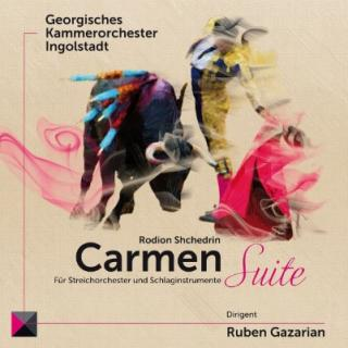 Shchedrin, Rodion: Carmen Suite, for strings and percussion - Georgian Chamber Orchestra Ingolstadt