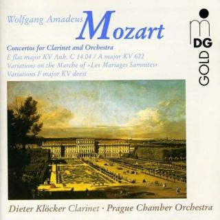 Mozart: Concerto For Clarinet And Orchestra - Kloecker/Prague Chamber Orchestra