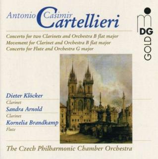 Cartellieri: Concertos Vol 2 - Brandkamp/Klocker/arnold/The Czech Philharmonic