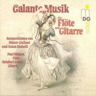 Giuliani: Galante Music For Flute And Guitar - Meisen/Evers