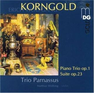 Korngold: Trio Op.1/Suite For Two Violins, Cello & Piano - Trio Parnassus