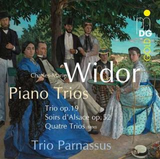 Widor Klavertrio; Etc. - Trio Parnassus