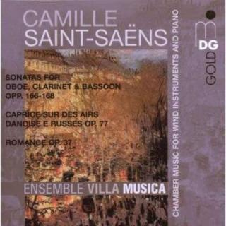 Saint-Saëns: Chamber Music For Wind Instruments And Piano - Ensemble Villa Musica