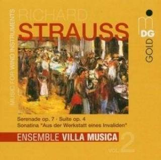 Strauss, R.: Music For Wind Instruments Vol.2