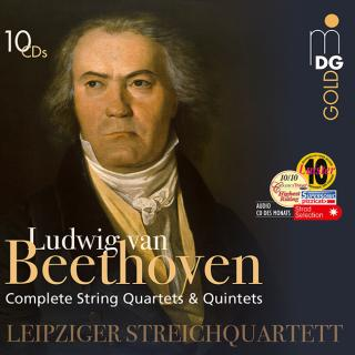 Beethoven, Ludwig van: Complete String Quartets & String Quintets - Leipziger Streichquartett