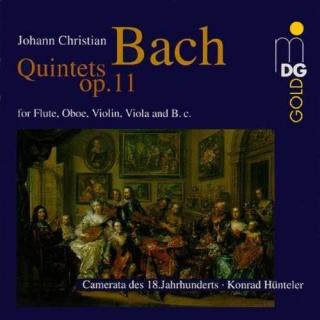 Bach, J. C.: 6 Quintets Op. 11 - Camerata of the 18th Century
