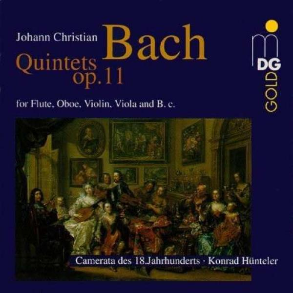 Bach, J. C.: 6 Quintets Op. 11 <span>-</span> Camerata of the 18th Century