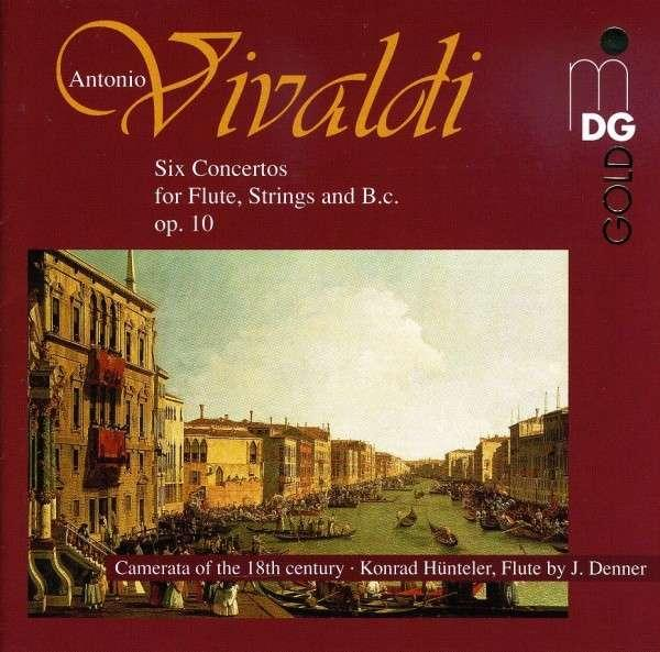 Vivaldi: Six Concertos For Flute, Strings And B.C. Op.10 <span>-</span> Hunteler/Camerata of the 18th Century