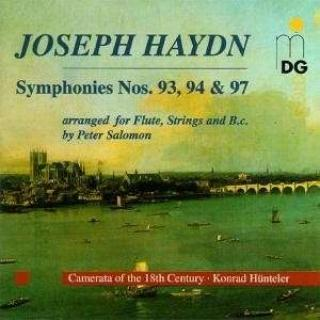 Haydn: Symphonies 93, 98 & 94 - Camerata of the 18th Century
