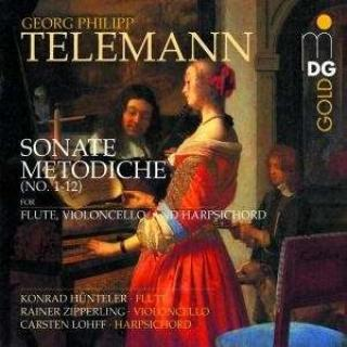 Telemann: Sonate Metodiche - Hunteler/Zipperling/Lohff