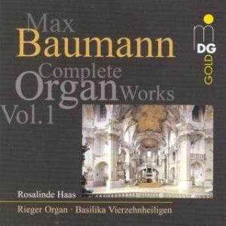 Baumann: Organ Works Vol 1 - Haas, Rosalinde