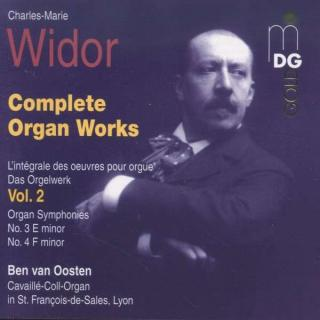 Widor: Complete Organ Works Vol 2