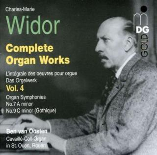 Widor: Complete Organ Works Vol 4