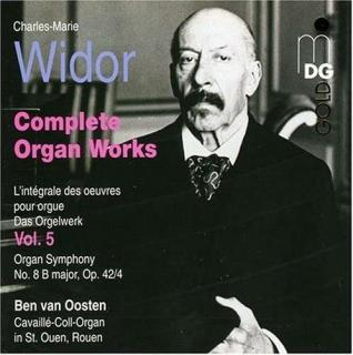 Widor: Complete Organ Works Vol 5