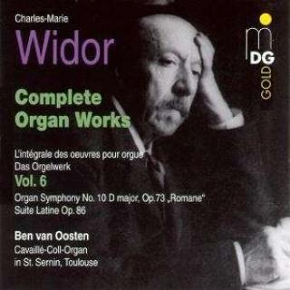 Widor: Complete Organ Works Vol 6
